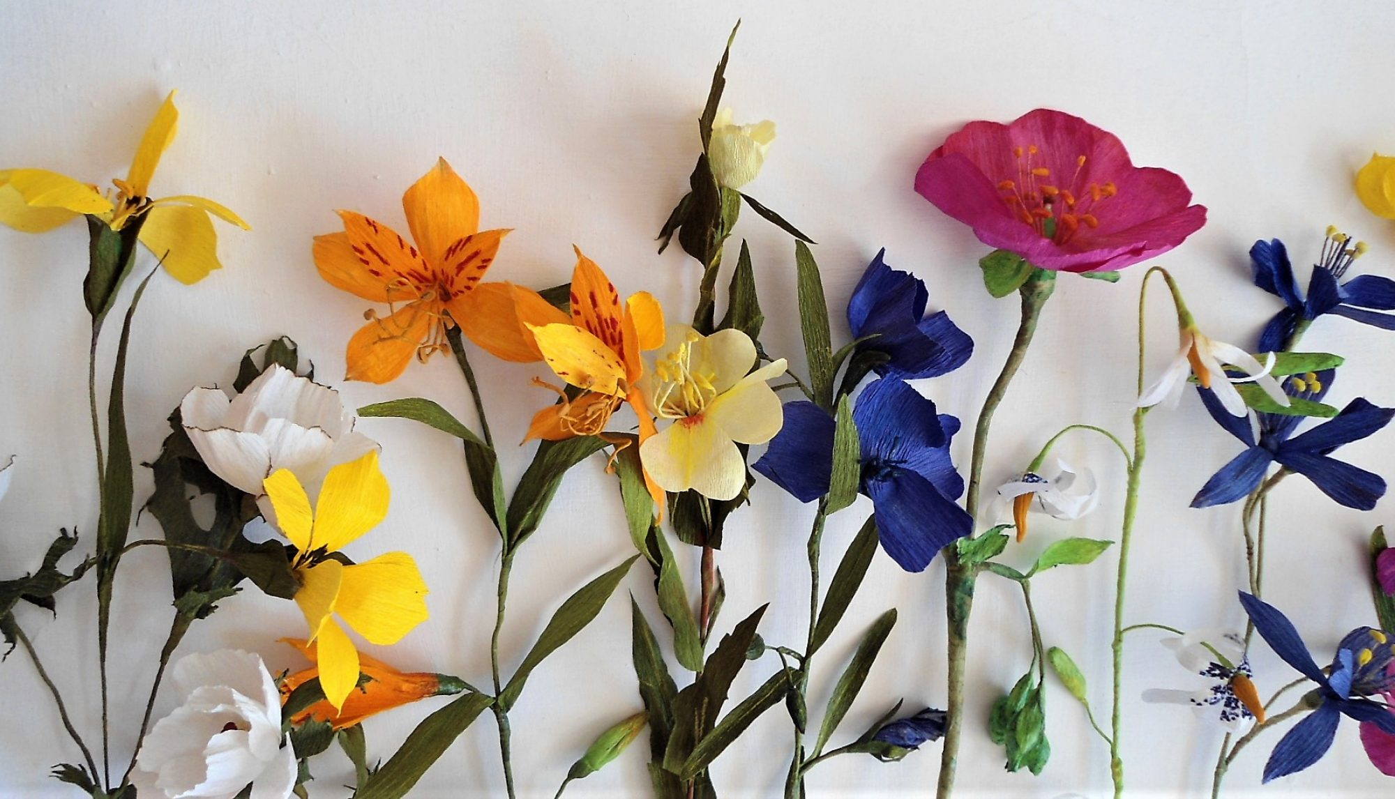 Flores Nativas de Papel